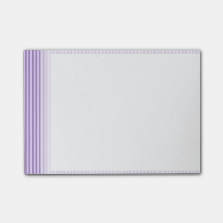 Purple Stripes Pattern Post-it® Notes