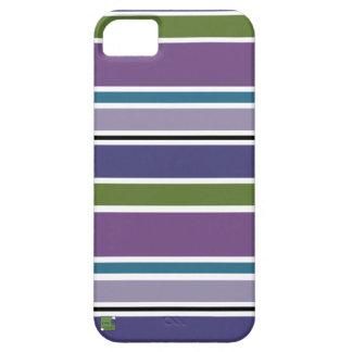 Purple Stripes Smartphone Cases