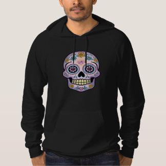 Purple Sugar Skull Hoodie