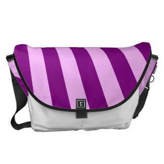 Purple Sun Rays Background Courier Bag