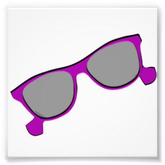 Purple Sunglasses Art Photo