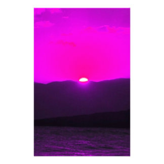 Purple Sunset Full Color Flyer