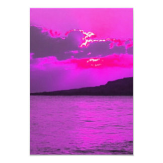 Purple Sunset Invite