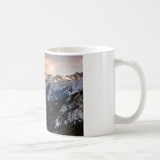 Purple Sunset Mountains Coffee Mug