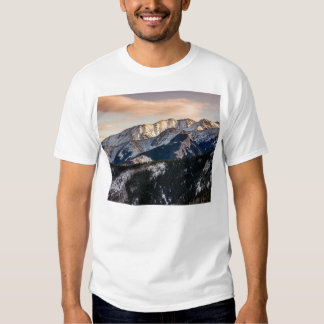 Purple Sunset Mountains T Shirt