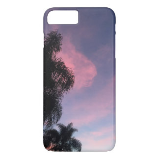 Purple sunset phone case