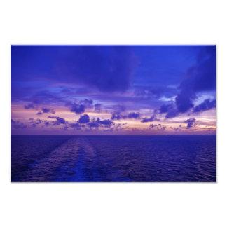Purple Sunset Photo Print