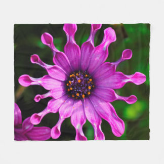 Purple Sunshine Fleece Blanket