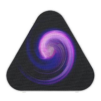 Purple Swirl Abstract Speaker
