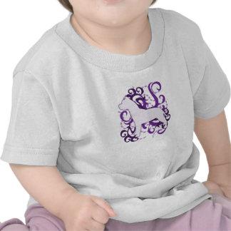 Purple Swirl American Pit Bull Terrier T-shirt