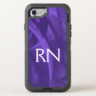 Purple Swirl RN phone case