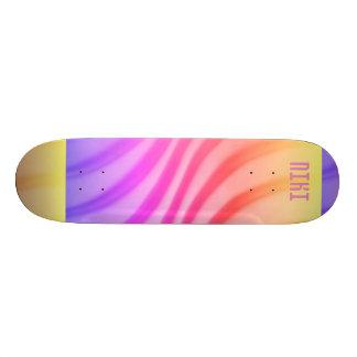Purple Swirl Skate Board