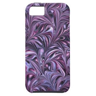 Purple Swirl - SRF iPhone 5 Cases