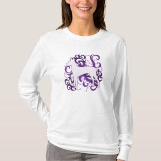 Purple Swirl Xoloitzcuintli T-Shirt