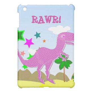 Purple T-Rex iPad Case