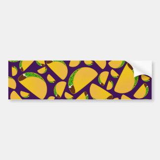 Purple tacos bumper stickers