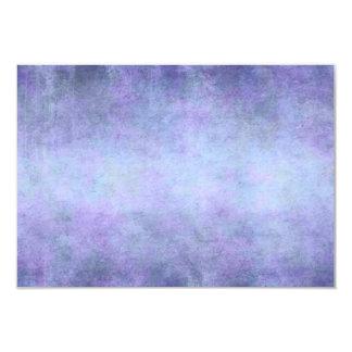 Purple, Teal Blue, Aqua, and Violet Watercolor 9 Cm X 13 Cm Invitation Card