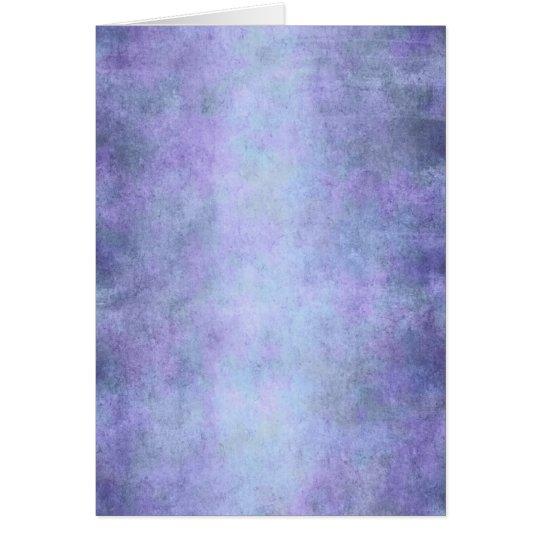 Purple, Teal Blue, Aqua, and Violet Watercolor Card