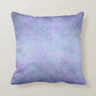 Purple, Teal Blue, Aqua, and Violet Watercolor Throw Cushions