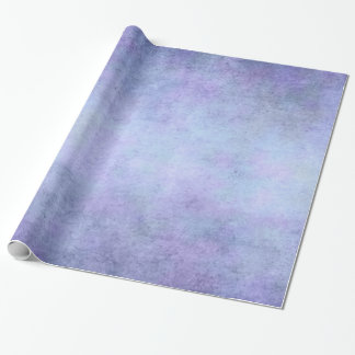 Purple, Teal Blue, Aqua, and Violet Watercolor Wrapping Paper