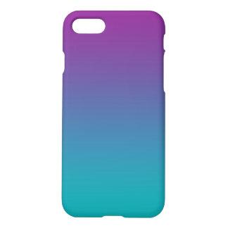 Purple & Teal Ombre iPhone 7 Case