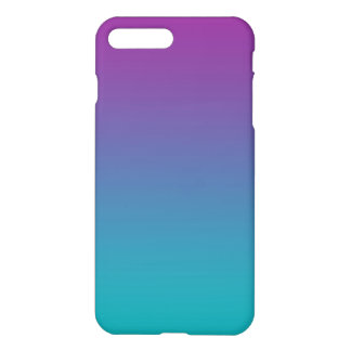 Purple & Teal Ombre iPhone 7 Plus Case