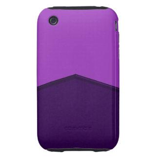 purple texture point iPhone 3 tough cases