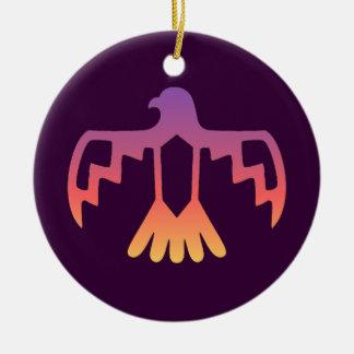 Purple Thunderbird Ornament