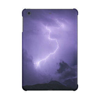 Purple Thunderstorm at Night