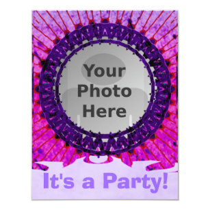 tie dye party invitations announcements zazzle uk