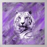 Purple Tiger Print