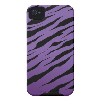 Purple Tiger Stripe iPhone4/4S Cases iPhone 4 Cover