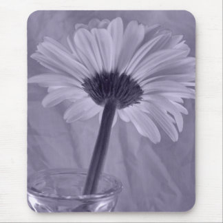 Purple Tinted Daisy Mouse Pad