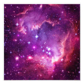 Purple Tinted Small Magellanic Cloud Photo Print