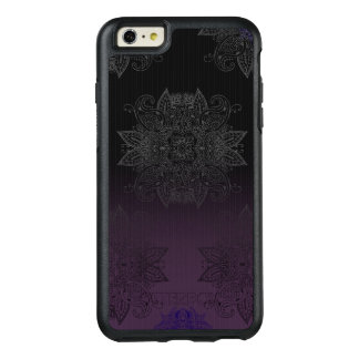 Purple to Black Fade Mehndi OtterBox iPhone 6/6s Plus Case