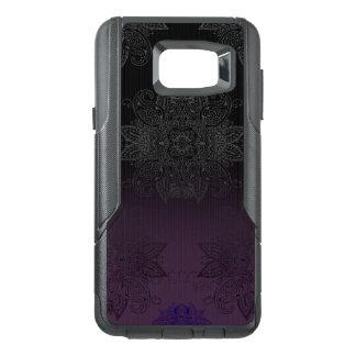 Purple to Black Fade Mehndi OtterBox Samsung Note 5 Case