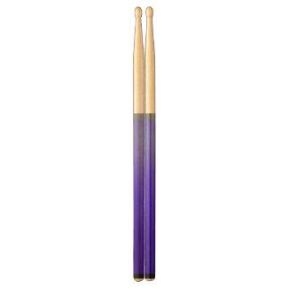 Purple to Light Blue Drum Sticks