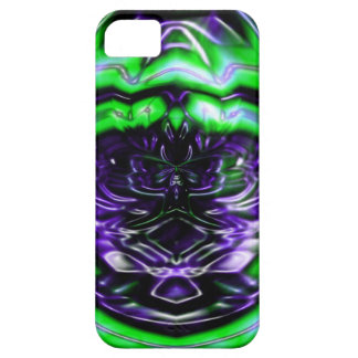 Purple Toxin iPhone 5 Cases