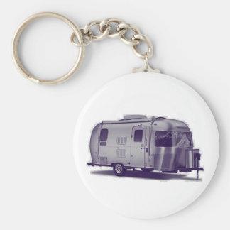 Purple Trailer Key Ring
