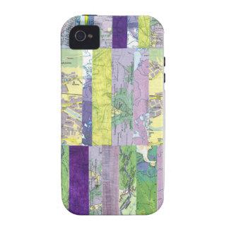 Purple Trails folder case iPhone 4/4S Covers