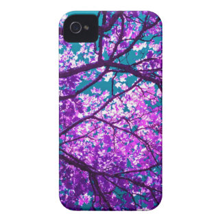 Purple tree II iPhone 4 Cases