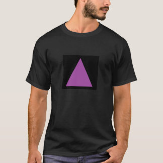Purple Triangle T-Shirt