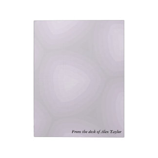 Purple Triangles Geometric Design Notepads