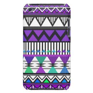 Purple Tribal 2 Pattern iPod Touch  Case