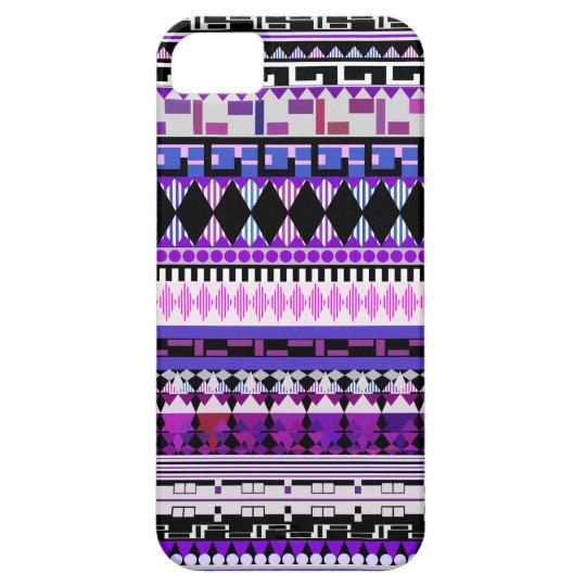 Purple Tribal iPhone 5 Case