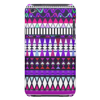Purple Tribal Pattern iPod Touch  Case