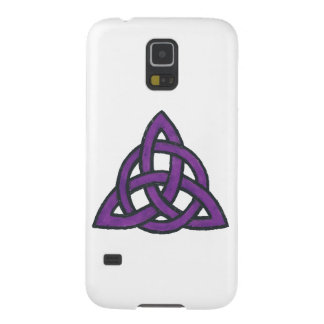 Purple Trinity Galaxy S5 Cases