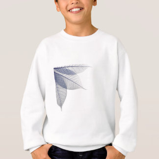 Purple Trio of leaves Sweatshirt