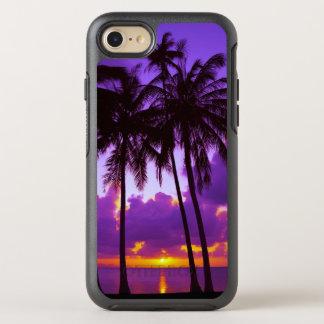 Purple Tropical Sunset 3 OtterBox Symmetry iPhone 8/7 Case