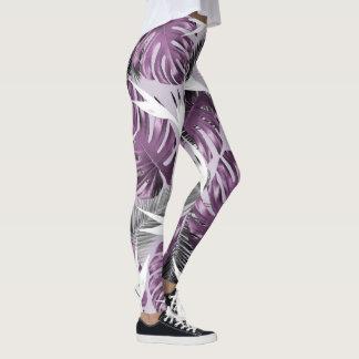 Purple Tropics Leggings